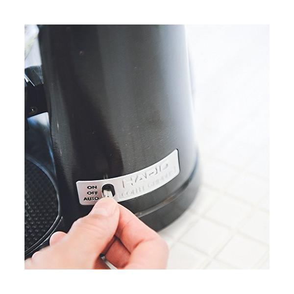 ハリオ 電動コーヒーミル V60 コーヒーグラインダー EVCG-8B-J elcielo 07