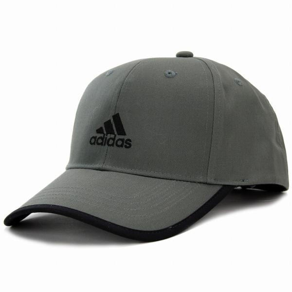 アディダスキャップランニングadidas帽子大きいサイズツイル野球帽スポーツcapグレー