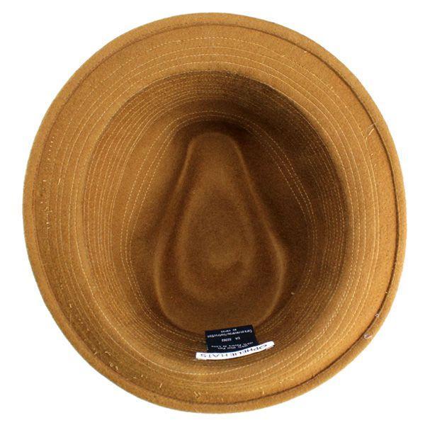 帽子 レディース OPHELIE HATS オフェリーハット 秋冬 ウールフェルト インポートハット キャメル