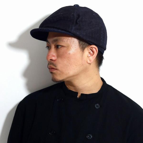 キャスケットメンズハンチング個性的キャスケット和装帽子和柄アメカジハンチング帽和畳着物小物THEFACTORYMADE日本製ネイ