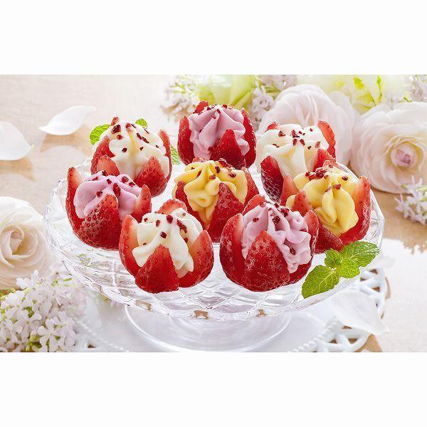 博多あまおう 花いちごのアイス A-DR スイーツ 贈り物 ギフト グルメ 送料無料