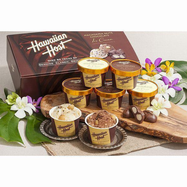 ハワイアンホースト マカデミアナッツチョコアイス AH-HH アイスクリーム スイーツ お取り寄せ ギフト 贈り物 お歳暮 クリスマス 送料無料