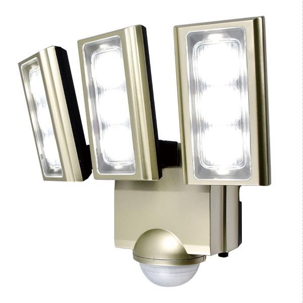 エルパ [ELPA] 朝日電器 屋外用LEDセンサーライト AC電源 ESL-ST1203AC