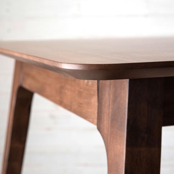 テーブル ダイニングテーブル 伸縮 天然木 机 4人掛け 6人掛け 食卓 エクステンション テーブル リビング  ウォールナット 折りたたみ 家具 来客 北欧 おしゃれ|elements|12