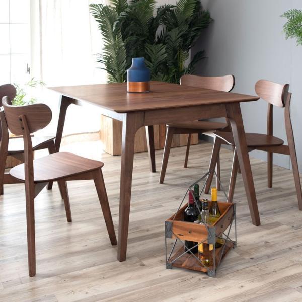 テーブル ダイニングテーブル 伸縮 天然木 机 4人掛け 6人掛け 食卓 エクステンション テーブル リビング  ウォールナット 折りたたみ 家具 来客 北欧 おしゃれ|elements|16