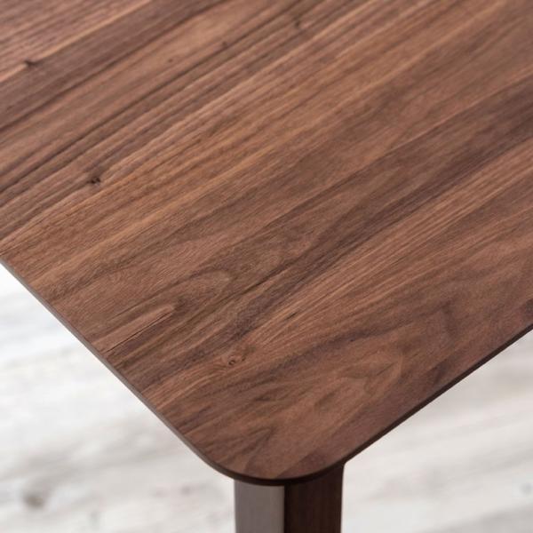 テーブル ダイニングテーブル 伸縮 天然木 机 4人掛け 6人掛け 食卓 エクステンション テーブル リビング  ウォールナット 折りたたみ 家具 来客 北欧 おしゃれ|elements|18