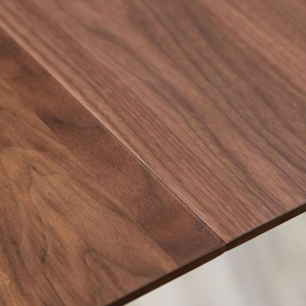 テーブル ダイニングテーブル 伸縮 天然木 机 4人掛け 6人掛け 食卓 エクステンション テーブル リビング  ウォールナット 折りたたみ 家具 来客 北欧 おしゃれ|elements|10