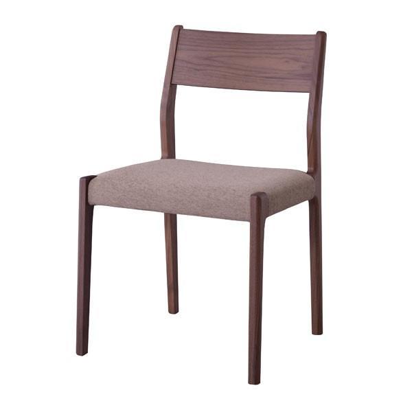 <title>椅子 ダイニングチェア 天然木 布張り ファブリック ウォールナット おしゃれ カフェチェアー 新作 人気 背もたれ付き 木目 食卓いす</title>