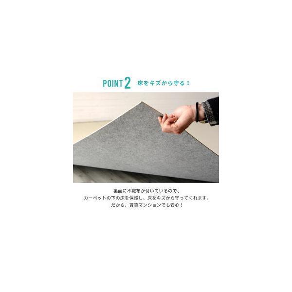 ウッドカーペット 6畳 団地間 243×345cm フローリングカーペット 軽量 DIY 簡単 敷くだけ 床材 リフォーム 1梱包|elements|12