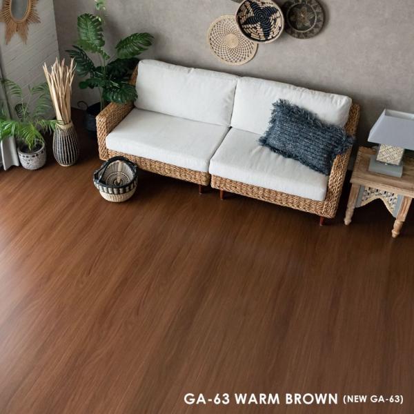 ウッドカーペット 6畳 団地間 243×345cm フローリングカーペット 軽量 DIY 簡単 敷くだけ 床材 リフォーム 1梱包|elements|05