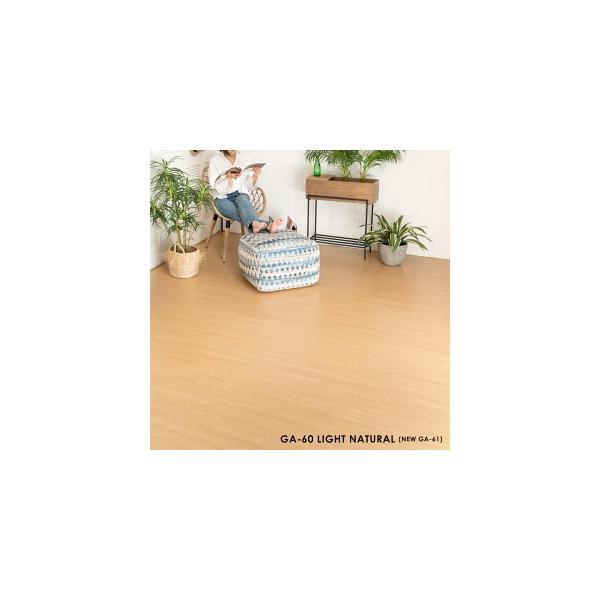 ウッドカーペット 6畳 団地間 243×345cm フローリングカーペット 軽量 DIY 簡単 敷くだけ 床材 リフォーム 1梱包|elements|06