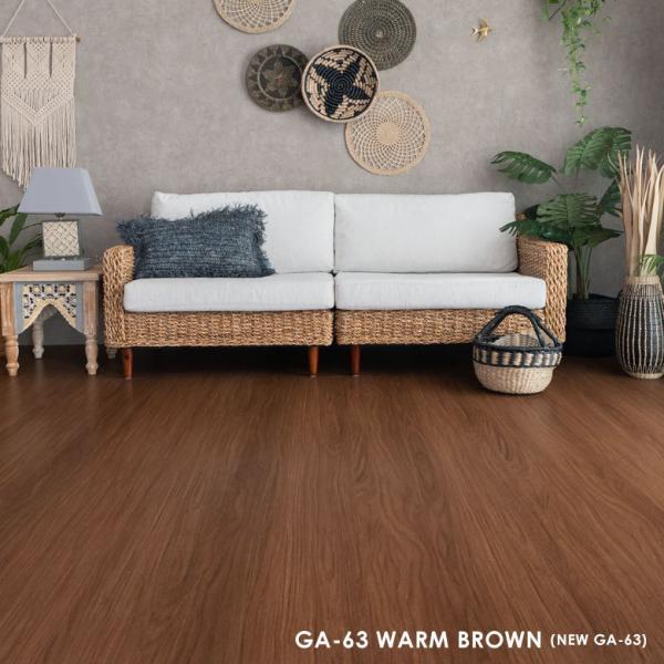 ウッドカーペット 6畳 団地間 243×345cm フローリングカーペット 軽量 DIY 簡単 敷くだけ 床材 リフォーム 1梱包|elements|10