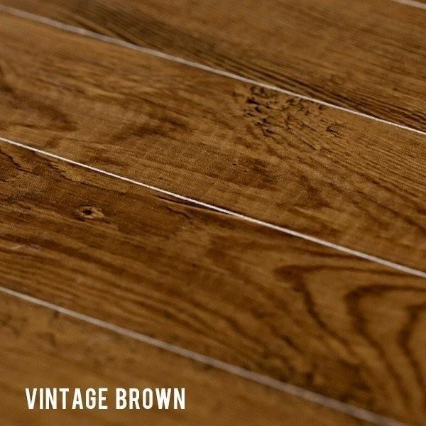 ウッドカーペット 6畳 江戸間 260×350cm 床材 フローリングカーペット DIY 簡単 敷くだけ 特殊エンボス加工 ヴィンテージ 1梱包 elements 04
