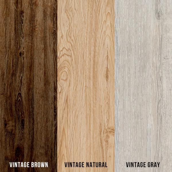 ウッドカーペット 6畳 江戸間 260×350cm ヴィンテージ ビンテージ フローリングカーペット DIY 簡単 敷くだけ 床材 1梱包|elements|04