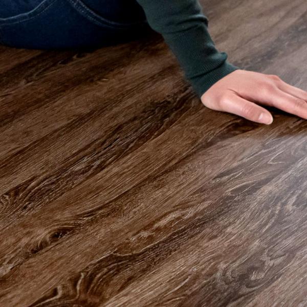 ウッドカーペット 6畳 江戸間 260×350cm ヴィンテージ ビンテージ フローリングカーペット DIY 簡単 敷くだけ 床材 1梱包|elements|05
