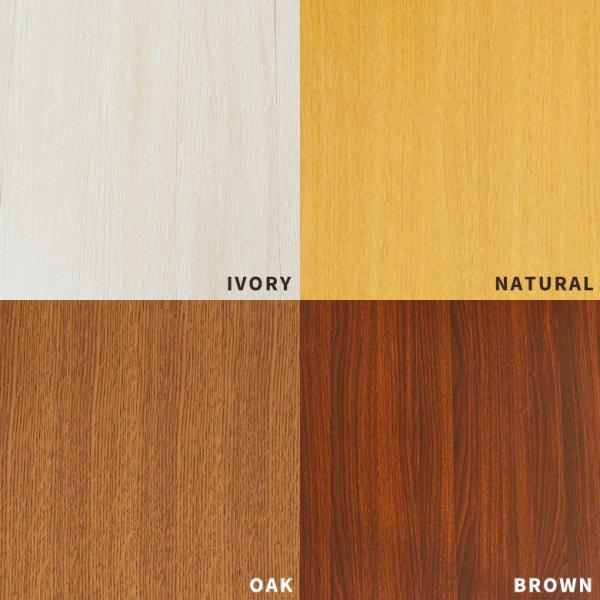 ウッドカーペット 6畳用 団地間 243×345cm フローリングカーペット DIY 簡単 敷くだけ 床材 1梱包 板幅7cm 板幅広め elements 04