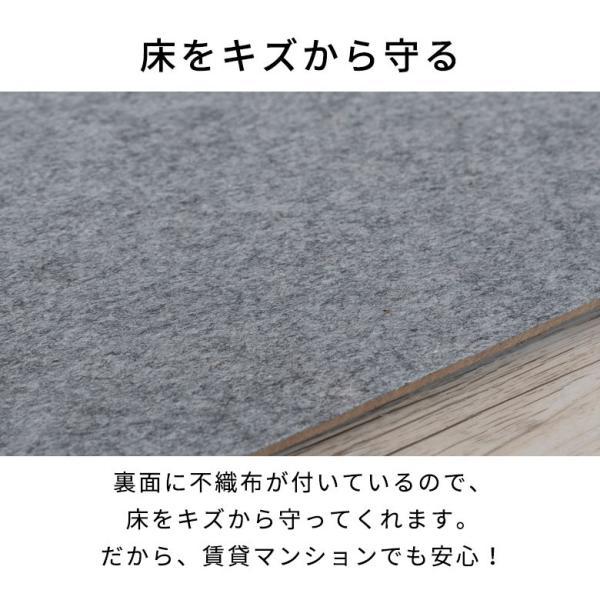 ウッドカーペット 6畳 江戸間 260×350cm フローリングカーペット 床材 DIY 簡単 敷くだけ 特殊エンボス加工 1梱包|elements|12