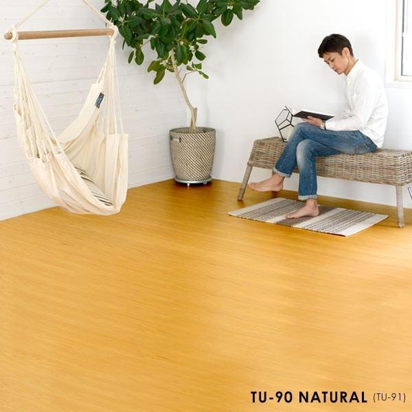 ウッドカーペット 天然木 フローリングカーペット 6畳 団地間 243×345cm 床材 DIY 簡単 敷くだけ リフォーム 2梱包|elements|04