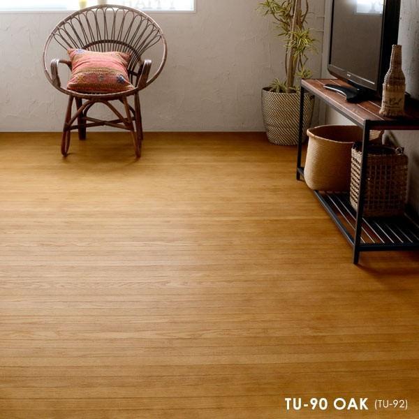 ウッドカーペット 8畳 江戸間 天然木 フローリングカーペット 350×350cm DIY 簡単 敷くだけ 床材 リフォーム 2梱包|elements|05