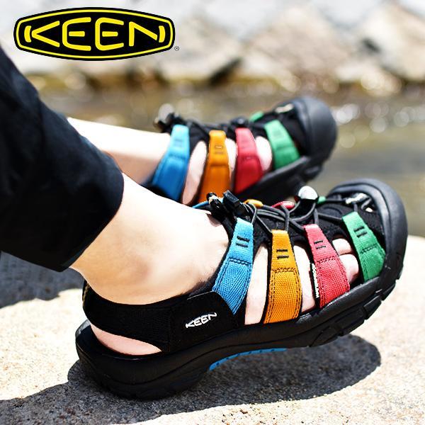 コラボモデル水陸両用サンダルKEENキーン靴レディースNewportH2ニューポートマルチMulti1023167国内正規品