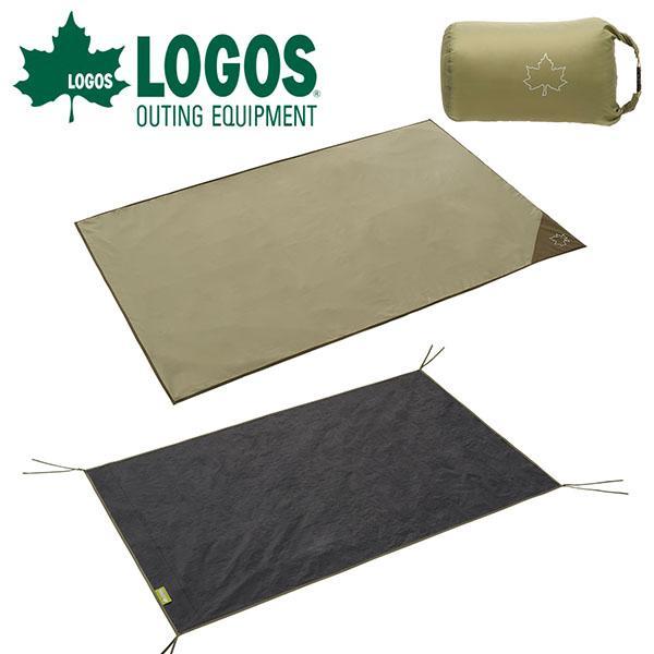 ロゴス LOGOS テントマット&シート・DUO インナーマット グランドシート セット アウトドア キャンプ テント 71809745