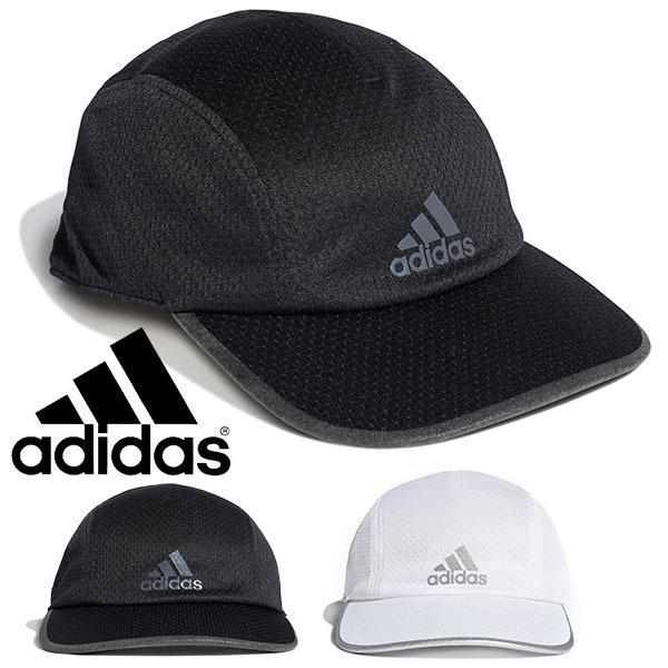 アディダスランニングキャップadidasメンズレディースAERORDYRUNMESHCAPメッシュ帽子ロゴ熱中症対策ジョギングマ