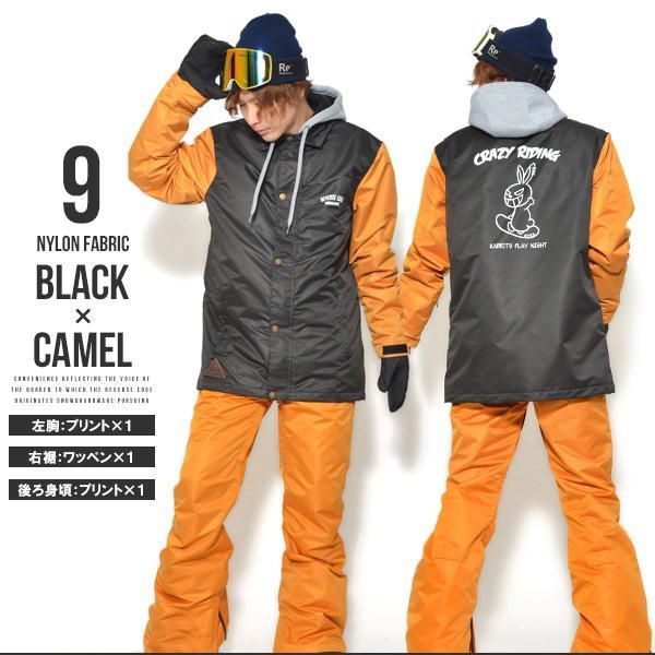 送料無料 スノーボードウェア メンズ Coach Jacket コーチジャケット バックプリント スノーボード ウェア スノボ SNOWBOARD JACKET 17-18 2017-2018冬新作|elephant|03