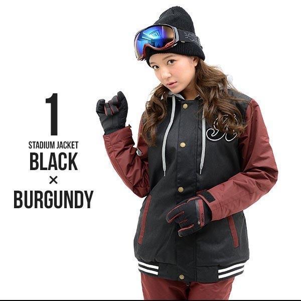スノーボード ウェア レディース スタジャン ジャケット スノーボード スノボ SNOWBOARD スノボウエア 女性 送料無料|elephant|03