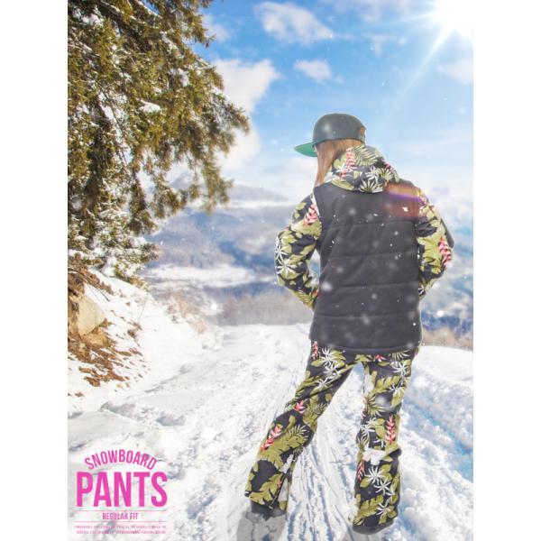 スノーボードウェア レディース パンツ レギュラーフィット スノーパンツ 立体縫製 スノボパンツ  スノボウエア SNOWBOARD 送料無料|elephant|02