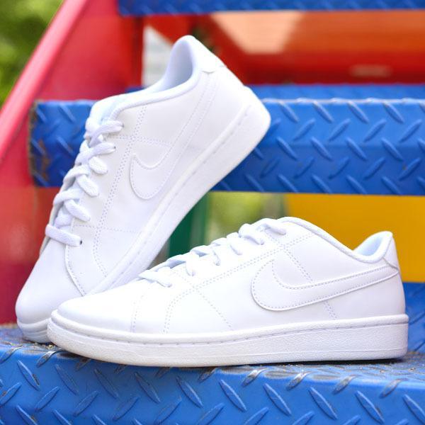 ナイキスニーカーNIKEメンズレディースコートロイヤル2SLシューズ靴ローカットカジュアル紳士婦人ホワイト白CW2533