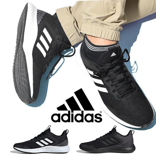 30%OFFランニングシューズアディダスadidasメンズFLUIDSTREETMランシュー靴スニーカーブラック黒2020冬 F