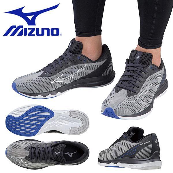 ランニングシューズ ミズノ MIZUNO ウェーブシャドウ 5 メンズ レディース 初心者 ランニング マラソン ランシュー 運動靴 シューズ 靴 J1GC2192 得割20