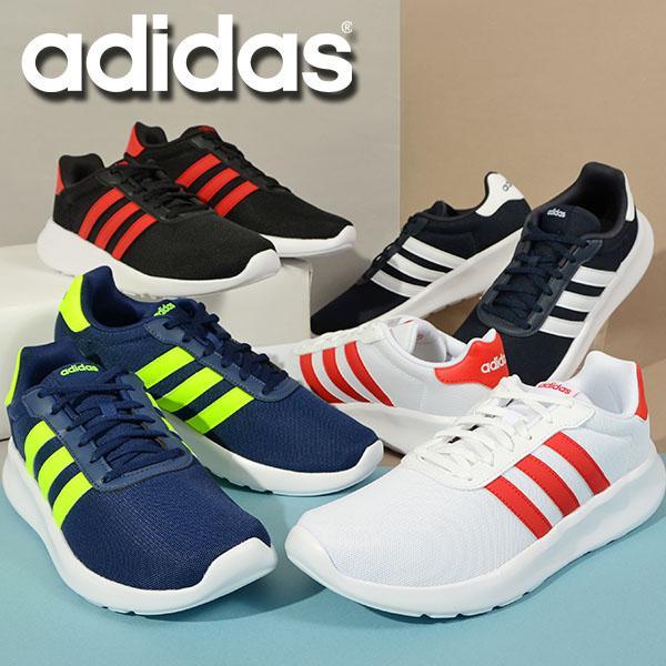 アディダス メンズ レディース ランニングシューズ adidas LITE ADIRACER 3.0 M ジョギング シューズ 靴 スニーカー 運動靴 2021秋新作 GW7954 GY3103