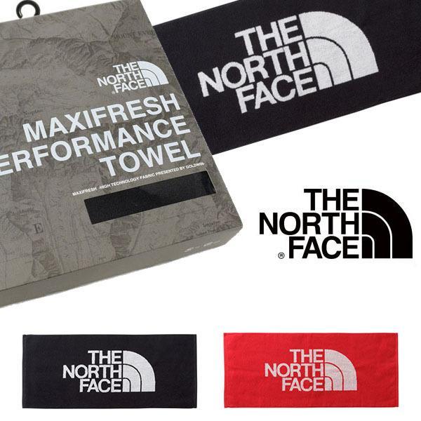 抗菌消臭機能を持つ高機能スポーツタオル THE NORTH FACE ザ・ノースフェイス マキシフレッシュM 34cm×80cm 箱入り