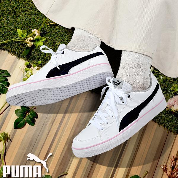 【最大23%還元】 44%OFF スニーカー プーマ PUMA レディース キッズ コートポイント シューズ 靴 362947