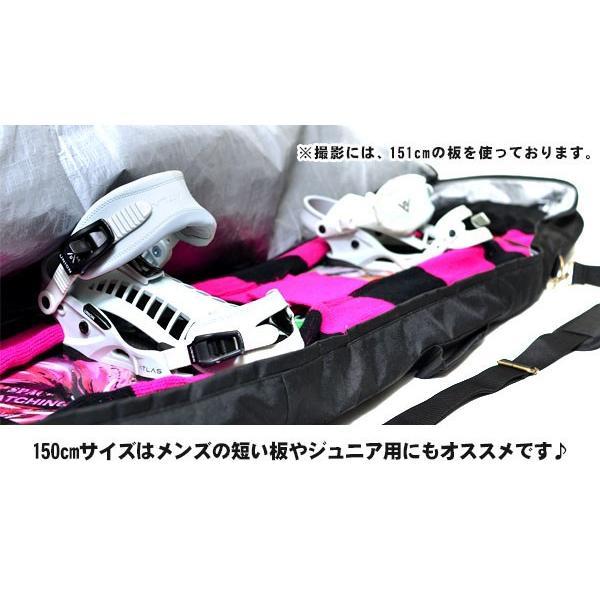 ボードケース ボードバッグ  スノーボード 150cm 158cm BOARD CASE BAG SNOWBOARD EDGE メンズ|elephant|08