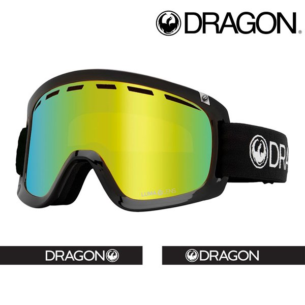 ゴーグル DRAGON ドラゴン D1 LUMALENS J GOLD ION ジャパンフィット ジャパンルーマレンズ 平面 スノーボード 2021-2022冬新作 10%off