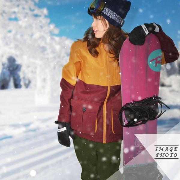 送料無料 スノーボードウェア レディース バイカラー 切り替え 2トーン ジャケット スノーボード スノボ ウエア SNOWBOARD JACKET 17-18 2017-2018冬新作 elephant 13