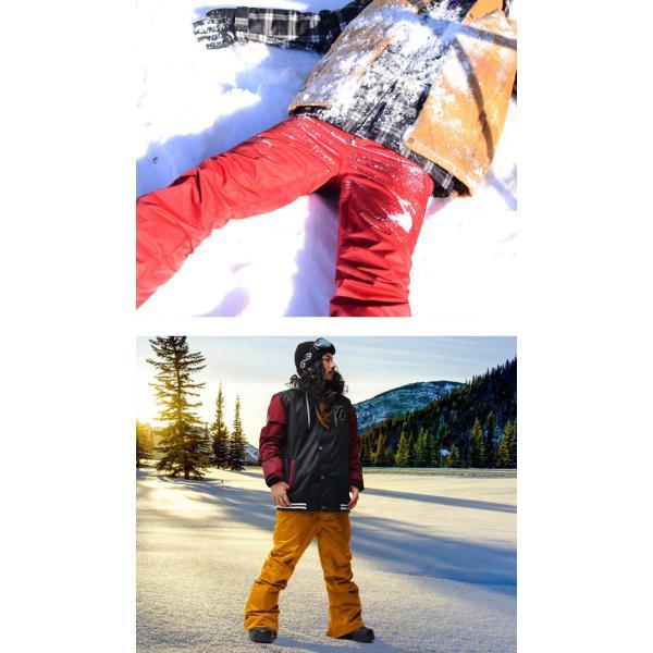 スノーボードウェア メンズ パンツ レギュラーフィット スノーパンツ ボトムス 立体縫製 スノボパンツ  スノボウエア SNOWBOARD 送料無料|elephant|12