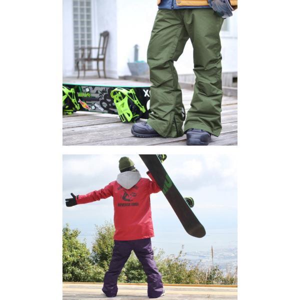 スノーボードウェア メンズ パンツ レギュラーフィット スノーパンツ ボトムス 立体縫製 スノボパンツ  スノボウエア SNOWBOARD 送料無料|elephant|13