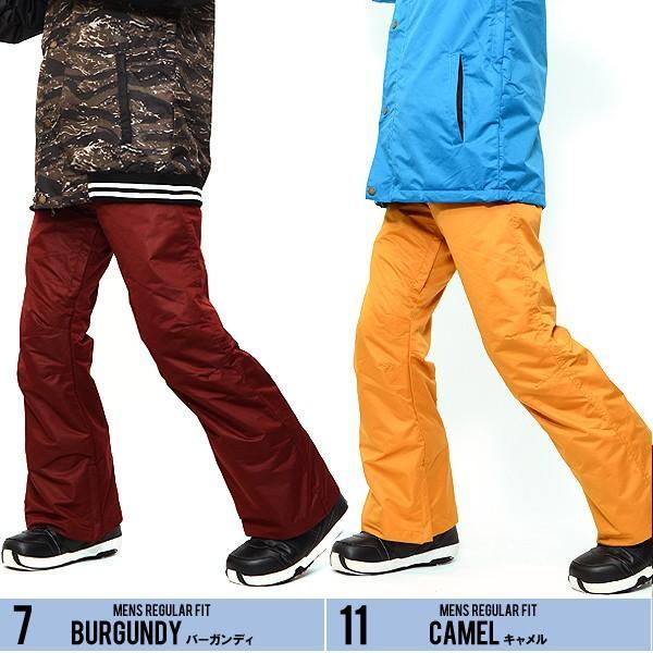 スノーボードウェア メンズ パンツ レギュラーフィット スノーパンツ ボトムス 立体縫製 スノボパンツ  スノボウエア SNOWBOARD 送料無料|elephant|04