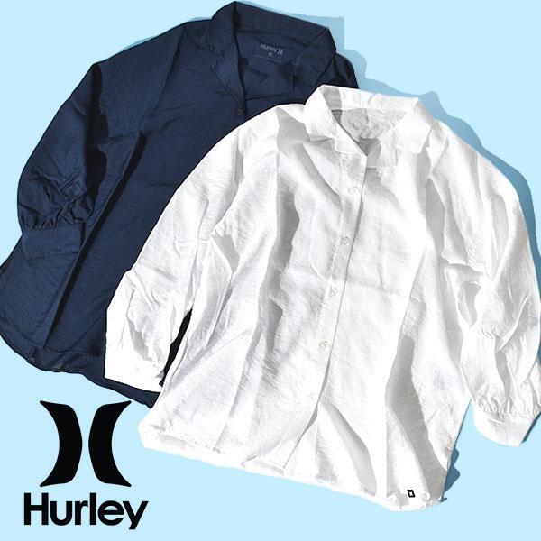 ドレス HURLEY ハーレー レディース COVER-UP SHIRT LS 長袖 カバーアップ シャツ サーフ WWV2100001 2021春夏新作