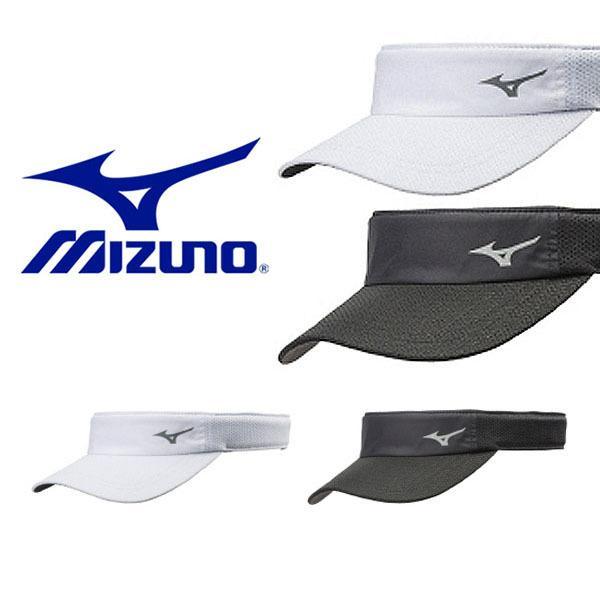 サンバイザー ランニングキャップ ミズノ MIZUNO メンズ レディース 帽子 CAP キャップ 熱中症対策