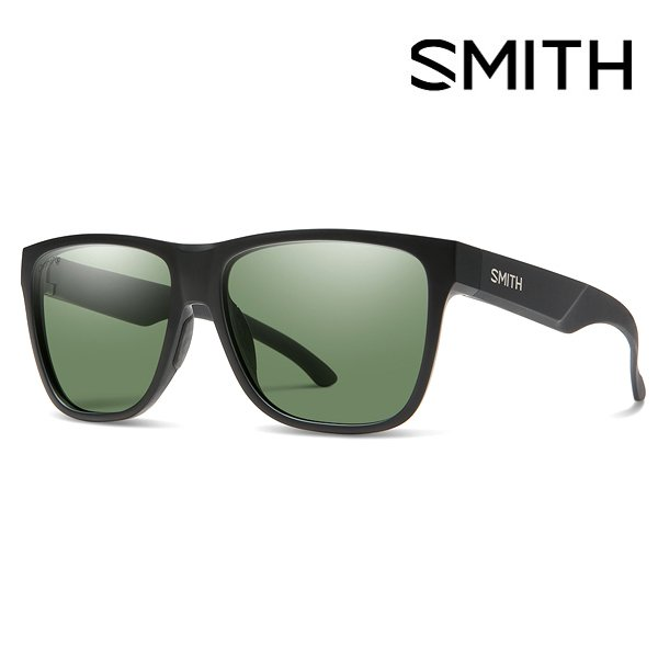 サングラス SMITH スミス Lowdown XL 2 Matte Black CP Polarized Gray Green クロマポップ 偏光 レンズ スノーボード 2021春夏新作 日本正規品