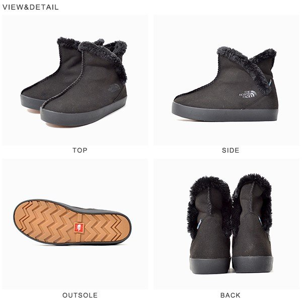 現品限り スエード ブーツ THE NORTH FACE ザ・ノースフェイス ウィンターキャンプ プルオン ショート レディース nf51754 撥水 履き口フリース