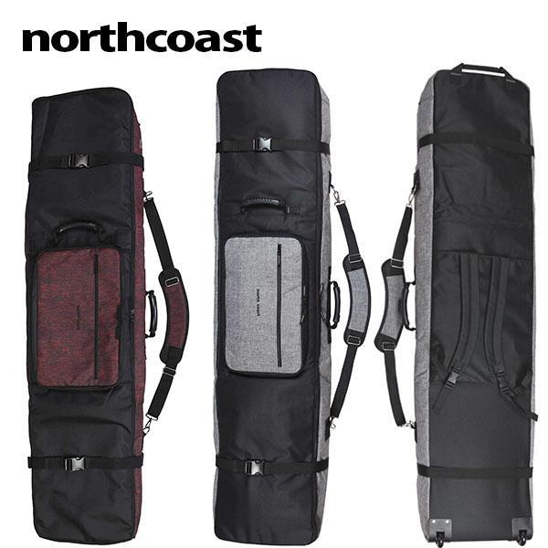 スノーボード ケース 3WAY スノボ バッグ キャスター付き  northcoast ノースコースト ボードバッグ 160cm 送料無料