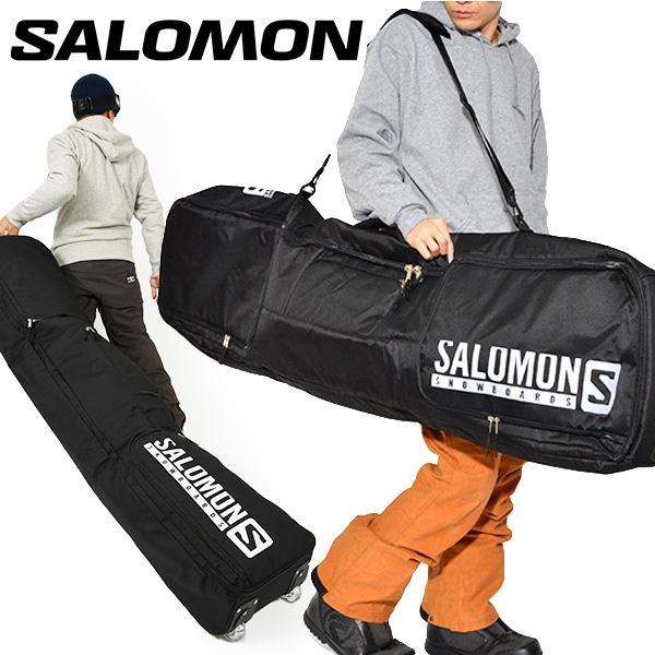 SALOMON サロモン ボードケース TRVL BC PRO ボードバッグ 149cm 160cm スノーボード スノボ キャスター ローラー コロコロ キャリーバッグ