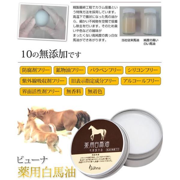 【スキンケアグッズ】ビューナ 薬用白馬油 保湿 プチプラ elesformam 03
