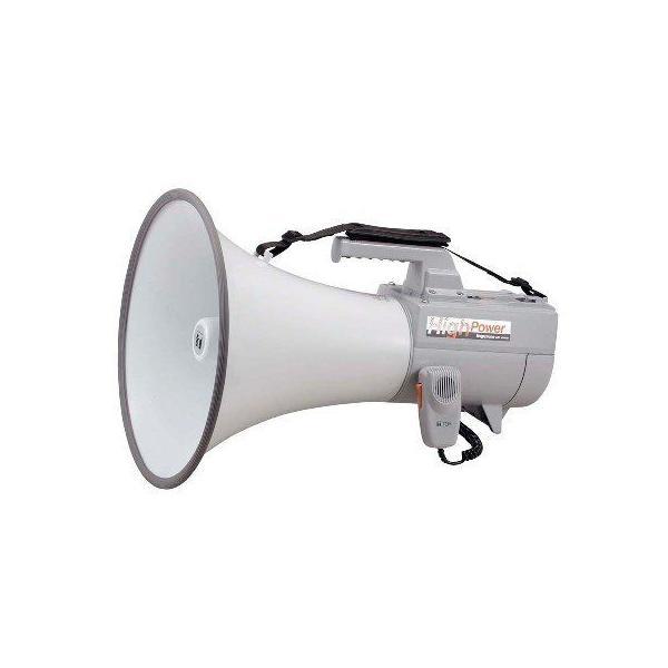 30W 大型メガホン ホイッスル音付(ショルダー型) (品番:TOA ER-2130W)