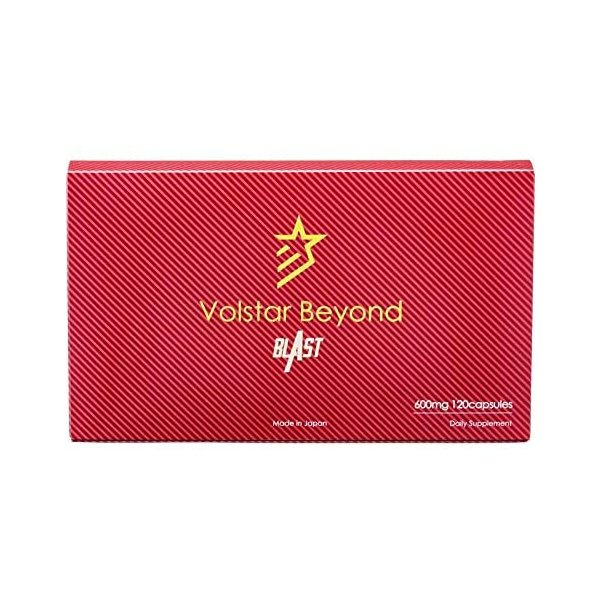 ヴォルスタービヨンドブラスト 公式 約1か月分120粒入り シトルリン アルギニン 亜鉛 ロイシン eleven-back